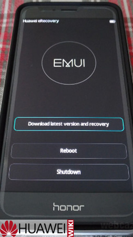 download latest version and recovery huawei что это